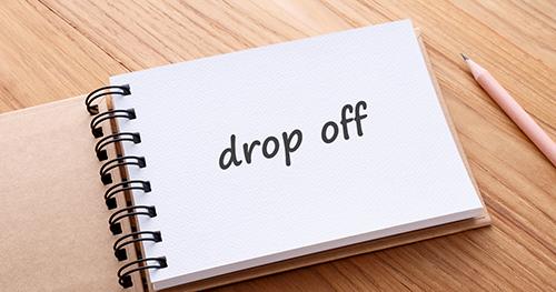 Off 意味 drop